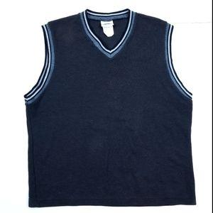 VTG 90's 80's V neck Sweatshirt Sweater Vest